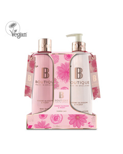 Boutique Cherry Blossom & Peony Body Duo