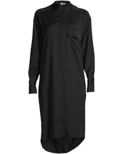 Paige Shirt Dress Black