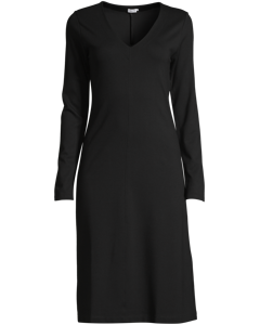 V-neck Dress Black