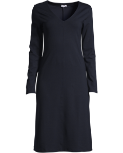 V-neck Dress Navy