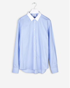 M. Pierre Striped Shirt White/blue