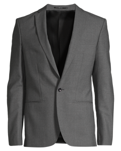 M. Christian Cool Wool Jacket Grey Melange