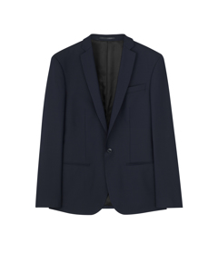 M. Tom Cool Wool Jacket Dk. Navy