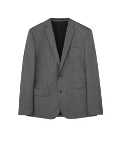 M. Tom Cool Wool Jacket Grey Melange