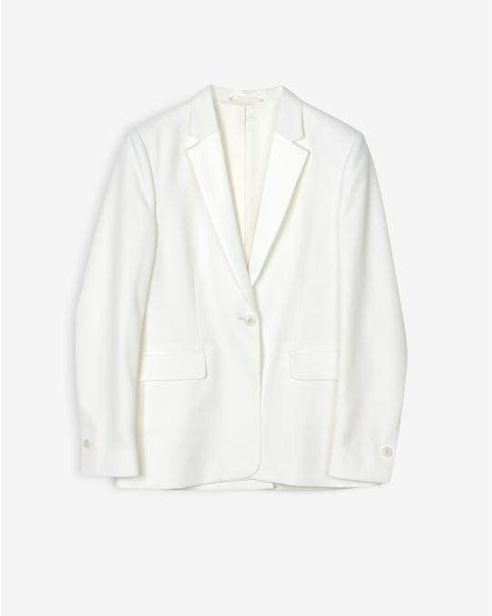 Filippa K Leah Luxe Jacket Off White