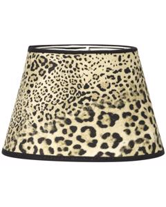 Oval Mönstrad Leopard 20cm