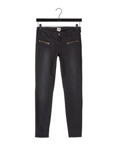 Sid Ankle Jeans Washed Black