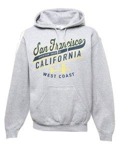 Gildan San Francisco Printed Hoodie