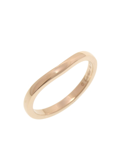 Cartier 18k Ballerina Curve Ring Gold