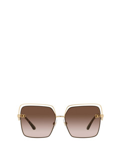 Dg2268 Gold/brown Solglasögon