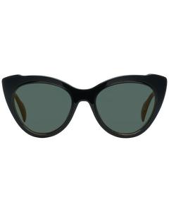 Yohji Yamamoto Mint Women Black Sunglasses Yy7021 52019 52-20-145 Mm