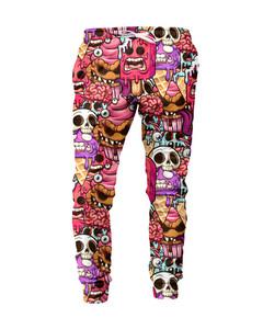 Mr. Gugu & Miss Go Zombie Ice Cream Unisex Sweatpants Glam Pink