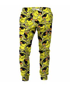 Mr. Gugu & Miss Go Chill Rubber Duck Unisex Sweatpants Happy Yellow
