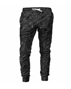 Mr. Gugu & Miss Go Dark Floral Unisex Sweatpants Dark Grey