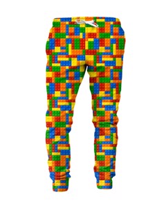 Mr. Gugu & Miss Go Blocks Unisex Sweatpants Multi Rainbow