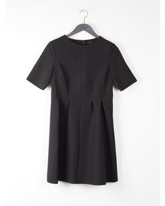 FITTED WAIST DRESS Black