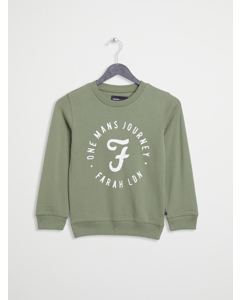 F/t Logo Crew Neck Sweat Moss Green