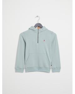 Half Zip Sweatshirt Seafoam