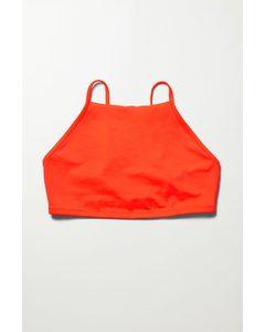 Cheer Swim Top Red