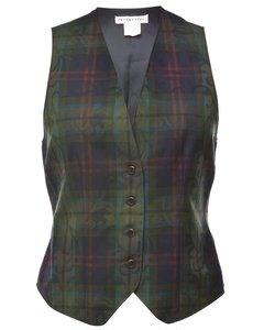 1990s Wool Pendleton Waistcoat