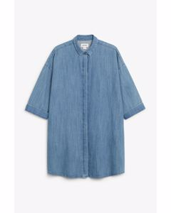 Mona-lisa Denim Dress Blue
