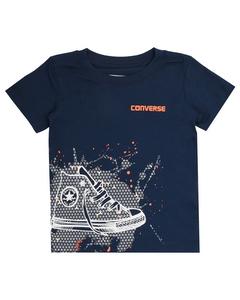 Sneaker Splatter Tee All Star Navy