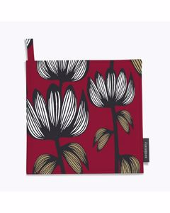 Pot Holder Alma 2pcs 22x22 Red