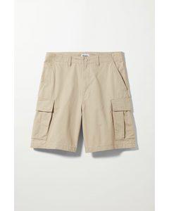 Abdi Cargo Shorts Beige