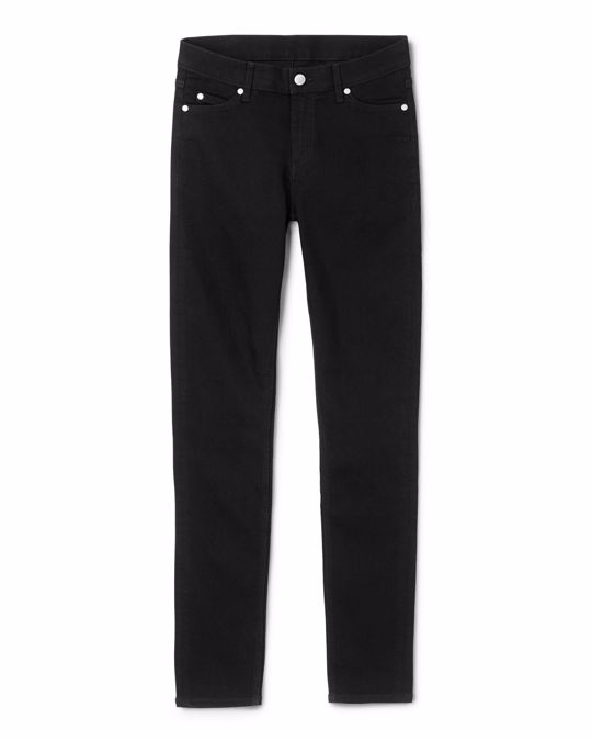 Cheap Monday Slim Denim Trousers Black