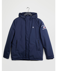 Winter Tender Hood Long 3 Layers Navy