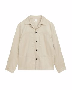 Workwear Overshirt Light Beige