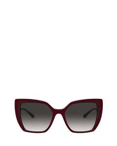 DG6138 bordeaux on transparent pink Sonnenbrillen