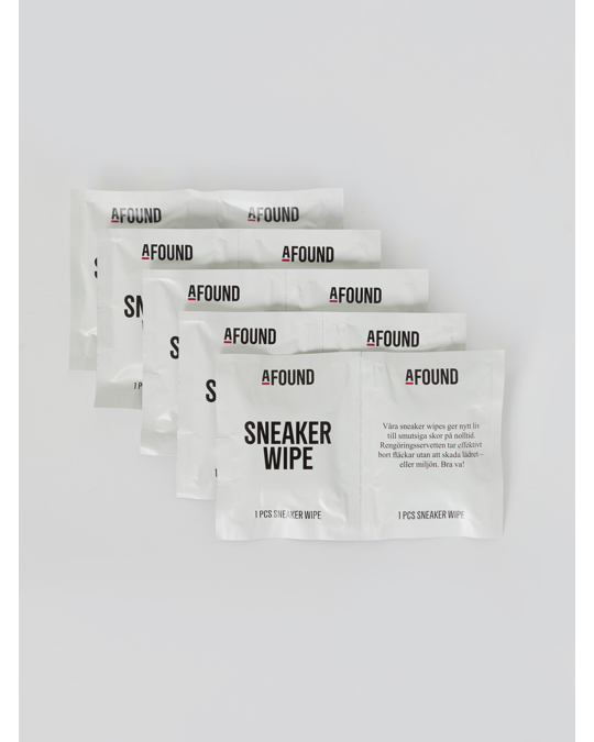 AFOUND OBJECTS Sneaker Wipes