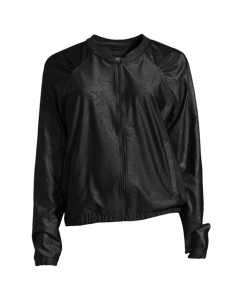 Leather Like Jacket Black