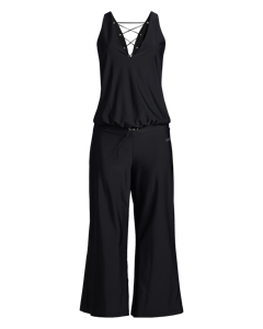 Lacing Jumpsuit Black