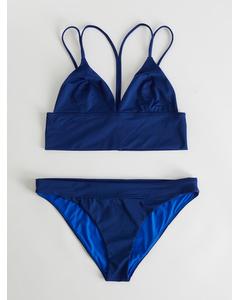 Bower Bardot Navy Bikini Set  Navy