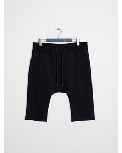 Helmut Lang Short Black Sweatpant Black