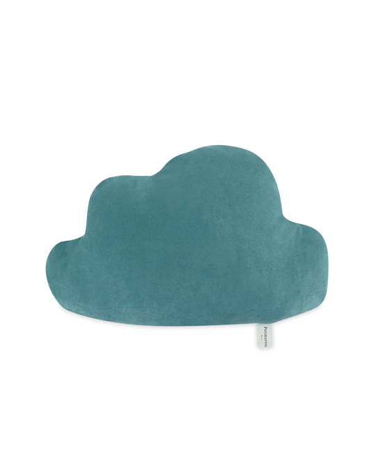 Potimarron Pillow 1.2.3. Nuage 55x37 Green
