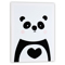 Ornemantal Frame Panda 30x40x1.5 White