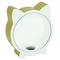 Piggy Bank Kitty Glitter 15x5x16.5 Gold