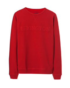 Shane Pique Sweatshirt-Pompeian Red