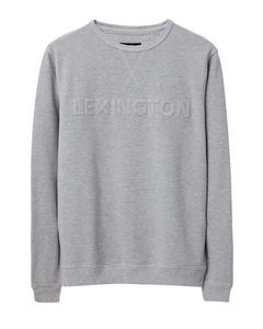 Shane Pique Sweatshirt Warm Gray Melange