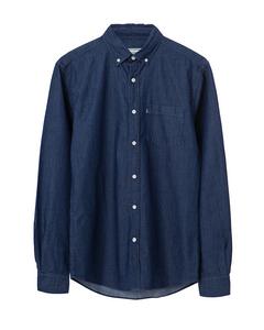 Taylor Indigo Shirt-dk Blue Denim