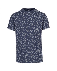 Trespass Mens Orsen Leaf Print T-shirt