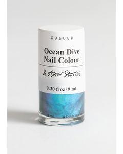 Nail Colour Fashion Ocean Dive