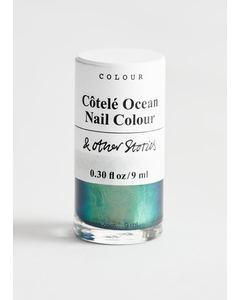Nail Colour Fashion Dusty Côtelé Ocean
