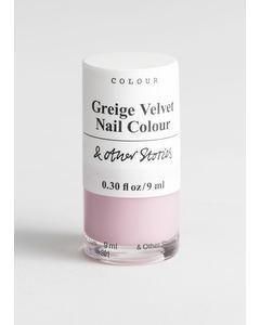 Nail Colour Fashion Greige Velvet