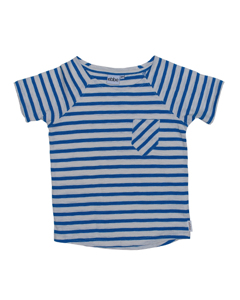 Bjorn T-shirt  Strong Blue