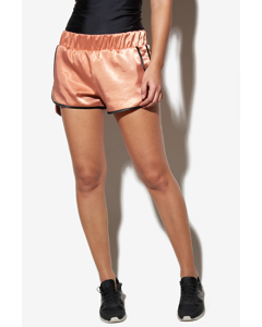Satin Shorts Rose