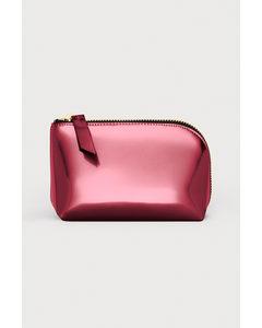 Makeup-väska Röd/metallic